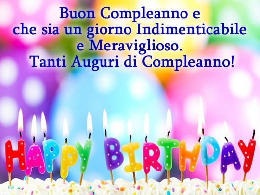 Popolare Auguri Buon Compleanno - Immagine Auguri Buon Compleanno AM43