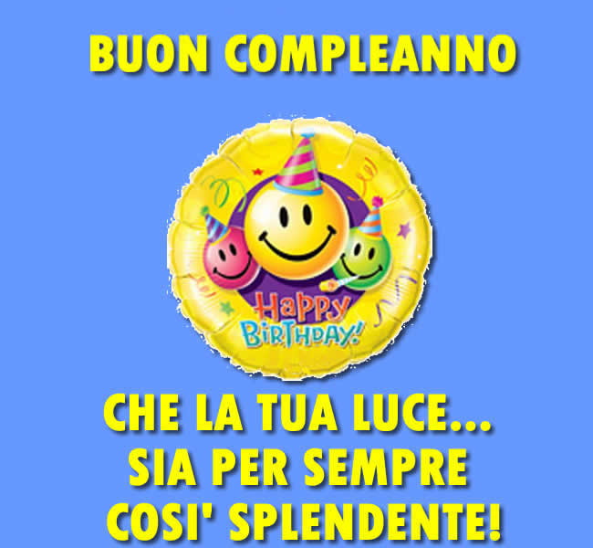 Favoloso Frasi Compleanno: tante bellissime frasi di Compleanno GR52