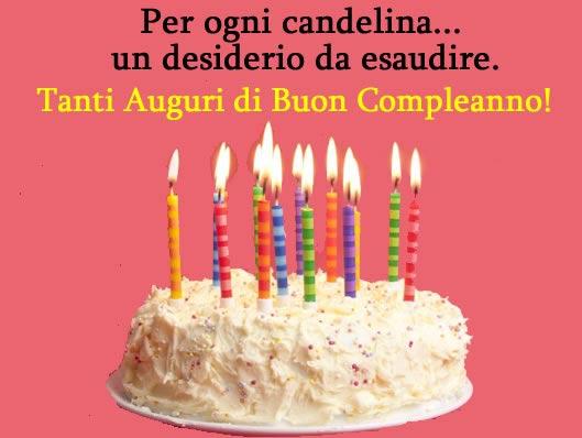 Assez Auguri di Compleanno - Immagine Auguri di Compleanno YJ11