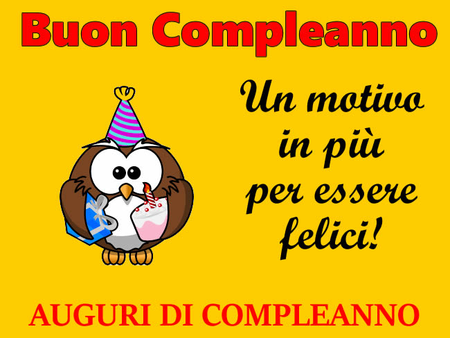 Auguri Felice Compleanno