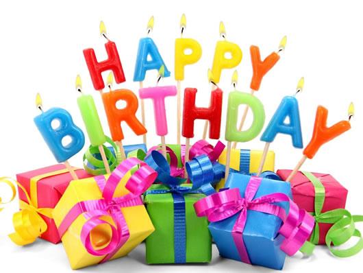 Favoloso Auguri Buon Compleanno con candeline e regali KR37