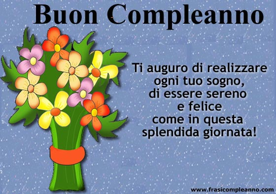 belle frasi x compleanno
