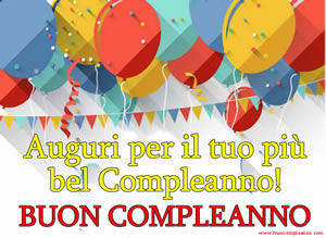Le più belle frasi compleanno
