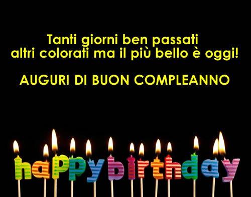 Favoloso Auguri di Buon Compleanno su Dolce_eternity LL69