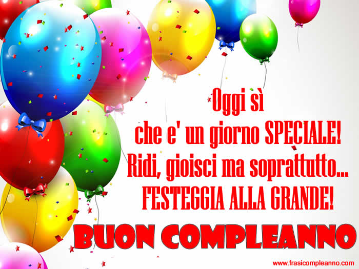 Fabuleux Frasi Compleanno: tante bellissime frasi di Compleanno ZS21
