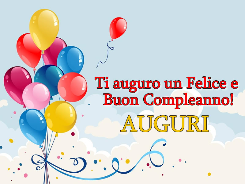 Felice Compleanno