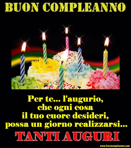 Top Frasi Compleanno: tante bellissime frasi di Compleanno ZT52