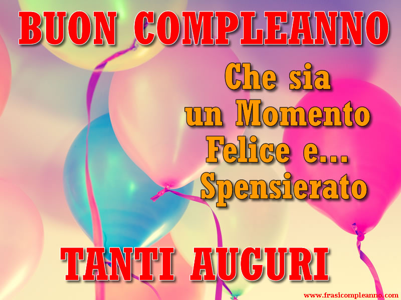 Preferenza Frasi Compleanno: tante bellissime frasi di Compleanno TY25