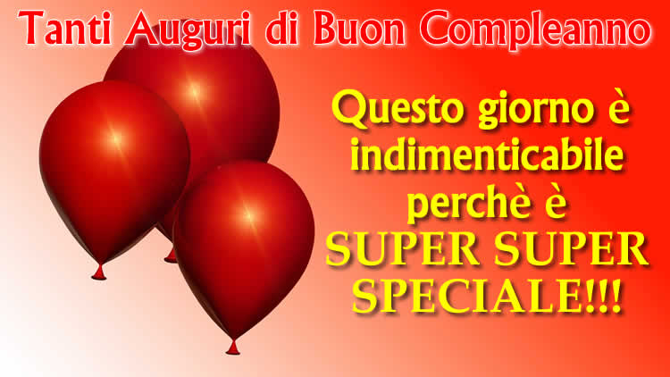 Exceptionnel Frasi Compleanno: tante bellissime frasi di Compleanno SZ85